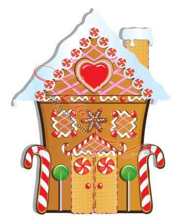 Макет на захарна къща