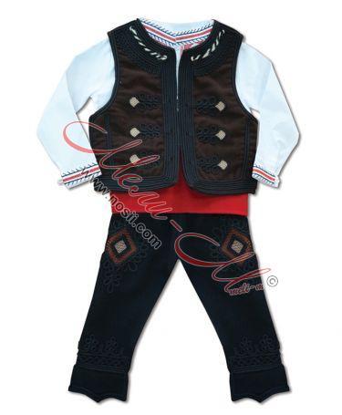 Родопска носия за момче