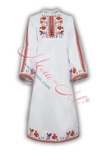 Дълга женска бродирана риза