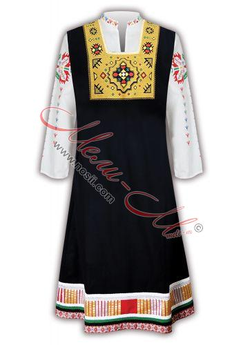 Тронска народна носия с бродерия