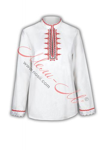 Дамска Риза с Бродерия