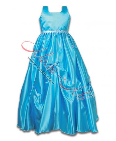 """Детска рокличка """"Синьо облаче"""""""