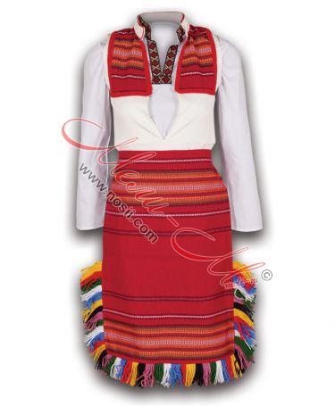 Македонска Дамска народна носия