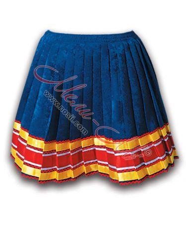 Традиционна женска  северняшка пола, обогатена със шевици - Бръчник