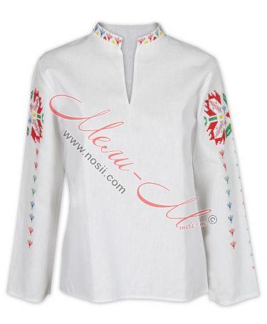 Дамска бродирана риза
