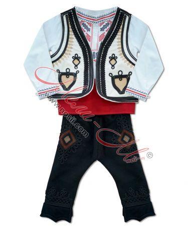 Детска народна носия за момче