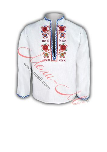Women's embroidered long shirt