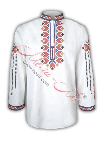 Мъжка бродирана риза