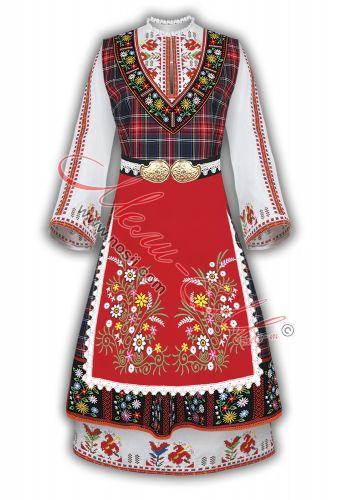 Thracian folk costume