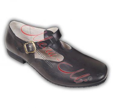 Men's Skarpini (folklore dance shoes) leather