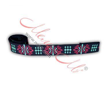 Embroidered belt