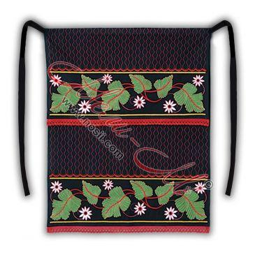 Bulgarian traditional embroidered  apron