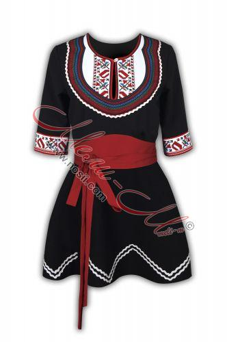 Tunic with braids