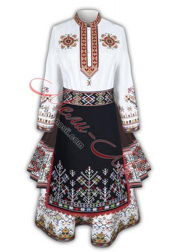 Ladies traditional folk costume