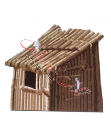 Макет на къща дървена