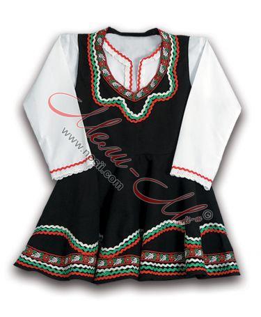 Детски фолклорен костюм с народни мотиви