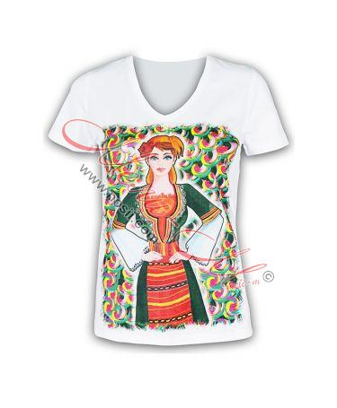 "T-shirt ""Maid of Kyustendil"""