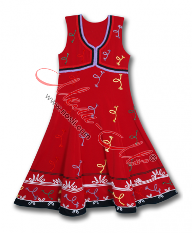 Traditional  Women's pinafore -dress (sukman)