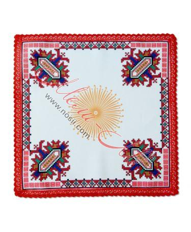 Cloth with embroidery