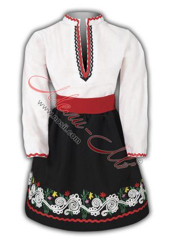 Детска народна носия с пола и риза