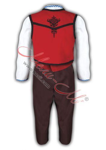 Тракийска носия за момче