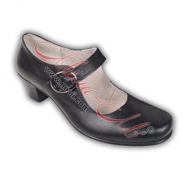 Lady's Skarpini (folklore dance shoes) leather