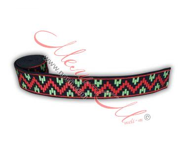 Embroidered belt
