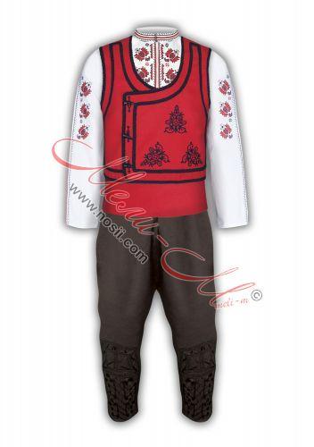 Тракийска Мъжка народна носия