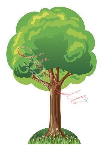 Макет на дърво