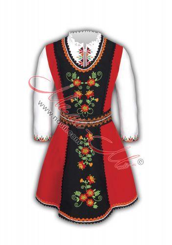 Фолклорна носия за момиче