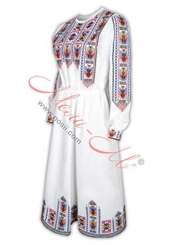 Women's embroidered long shirt