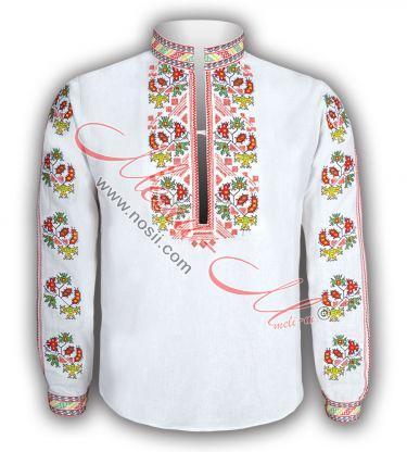 Дамска Традиционна бродирана риза