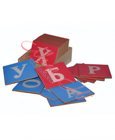 sanded Alphabet