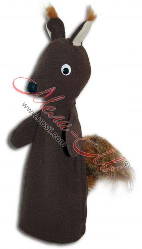 Doll Puppet Theater - squirrel
