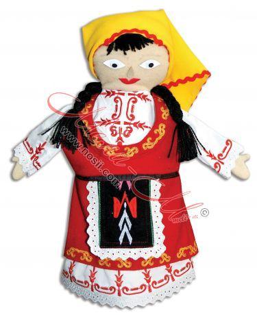 Кукла за куклен театър - жена