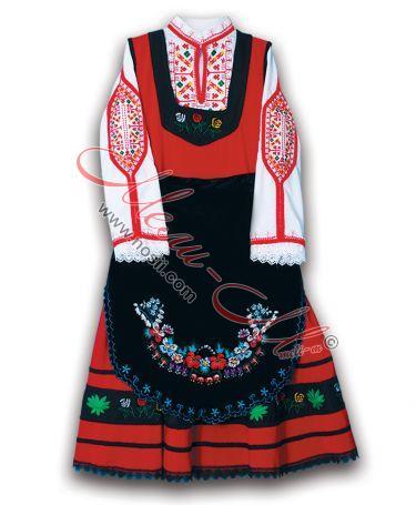 Bulgarian Thracian costume
